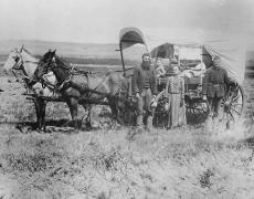 Homesteader ne 1866