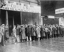 The great depression lines